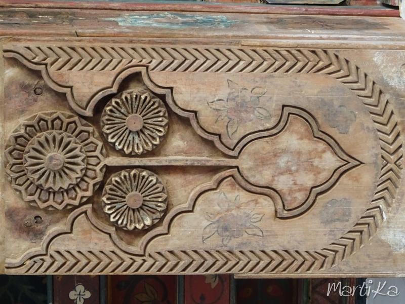 Detalle de viga de madera
